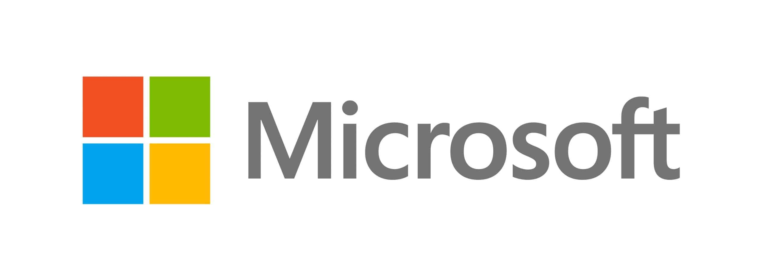 Mircrosoft logo for March Windows 10 Update article