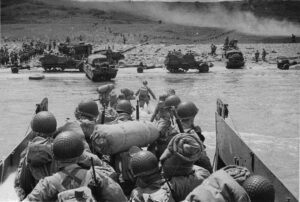 D-Day Anniversary photo of the invasion